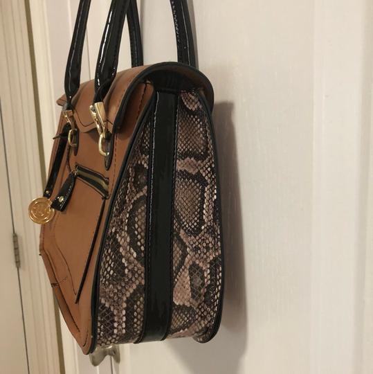 London Fog Tote in Tan Image 1