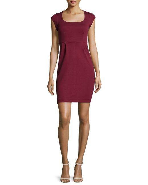 Preload https://img-static.tradesy.com/item/22762250/french-connection-burgundy-manhattan-cap-sleeve-jersey-short-night-out-dress-size-4-s-0-0-650-650.jpg