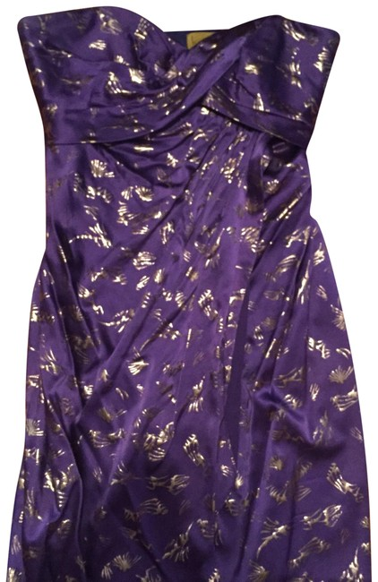 Preload https://img-static.tradesy.com/item/22762269/nicole-miller-purple-strapless-wrap-front-short-cocktail-dress-size-8-m-0-1-650-650.jpg
