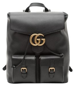 Gucci Marmont Gg Leather Backpack