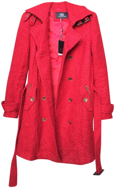Preload https://img-static.tradesy.com/item/22762359/tart-collections-red-boucle-jacket-size-4-s-0-1-650-650.jpg