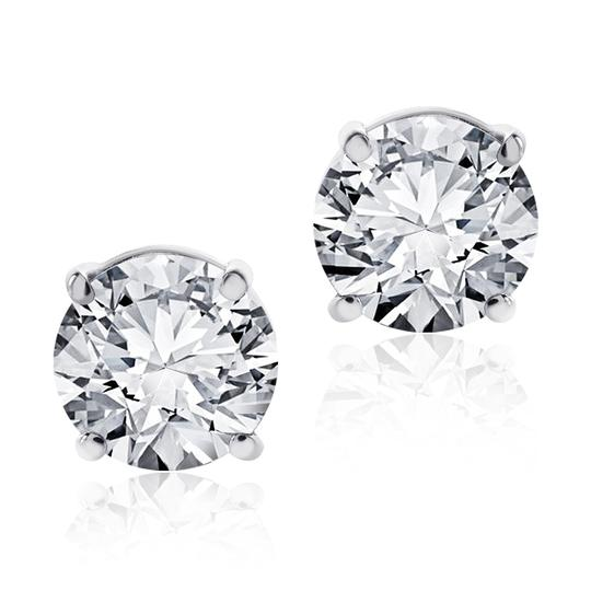 Preload https://img-static.tradesy.com/item/22762488/avital-and-co-jewelry-white-215-carat-round-brilliant-cut-diamond-stud-f-gsi1-14k-wg-earrings-0-0-540-540.jpg