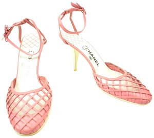 Chanel Pink Leather & Pumps