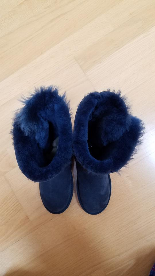 99dc236ef57 UGG Australia Blue Bailey Button Bling Triplet Boots/Booties Size US 5.5  Regular (M, B) 12% off retail