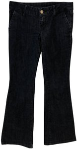People's Liberation Flare Leg Jeans-Dark Rinse