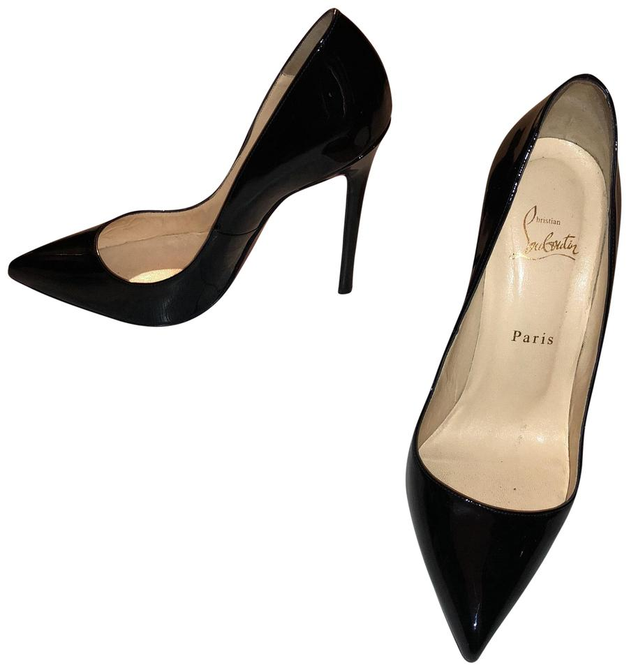 quality design 53bd9 606e0 Christian Louboutin Black Pigalle 120 Patent Calf Pumps Size EU 39.5  (Approx. US 9.5) Regular (M, B)