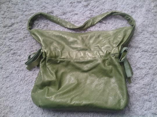 Marco Buggiani Satchel in Olive green
