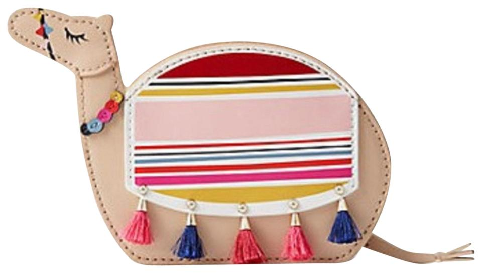 Kate Spade E Things Up Camel Coin Purse