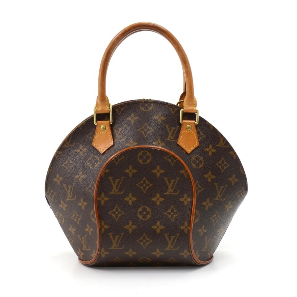 louis vuitton ellipse vintage pm monogram hand brown canvas hobo bag tradesy. Black Bedroom Furniture Sets. Home Design Ideas