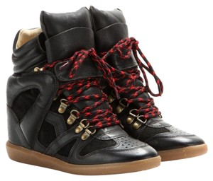 Étoile Isabel Marant Sneakers Wedge Black Flats