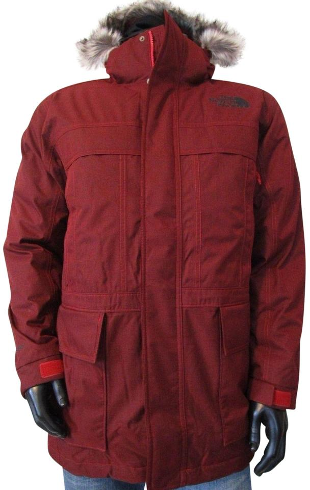 c7db18f78 The North Face Cardinal Red Heather  Mens-tnf-the-north-face-mcmurdo-ii-550--parka-insulated-hooded-jacket  Jacket Size 16 (XL, Plus 0x)