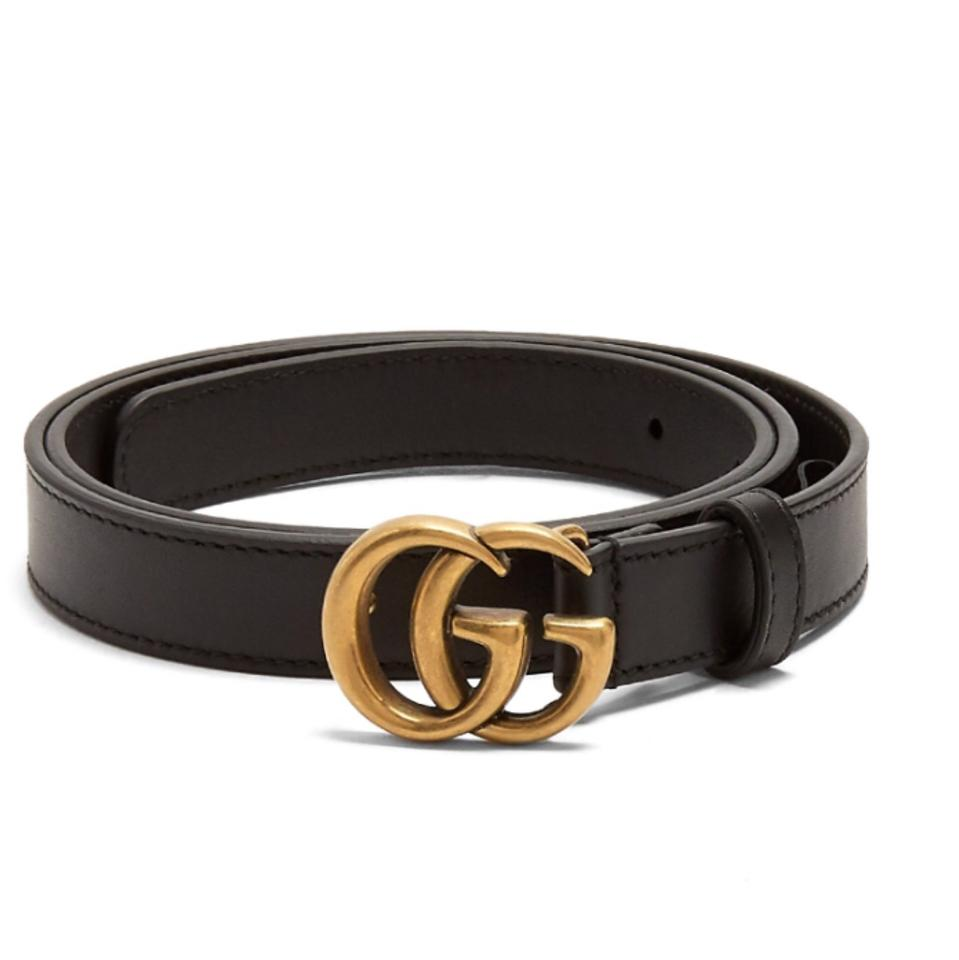 765164ea3 Gucci Brand New Size 90/36 GG-logo 2cm leather belt Image 0 ...