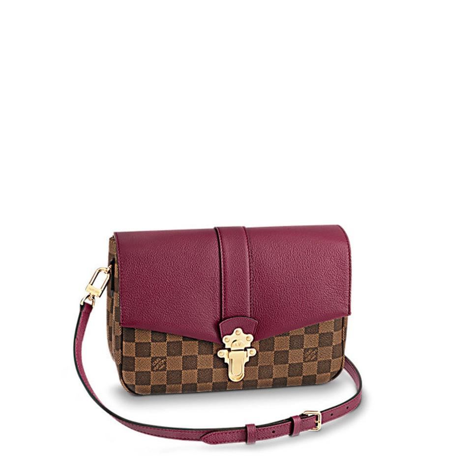 Louis Vuitton Metis Reverse Clapton Red Damier Ebene Cross Body Bag
