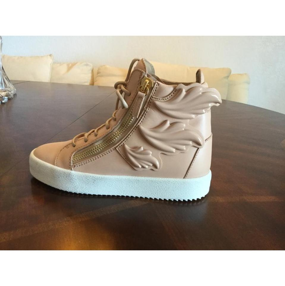 0a21936307c41 Giuseppe Zanotti Tan New Wing Sneakers Size US 6 Regular (M, B) - Tradesy