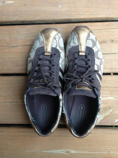 Coach Leather Tennish brown/Tan Athletic