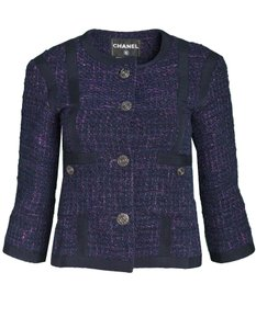 Chanel Tweed navy Jacket