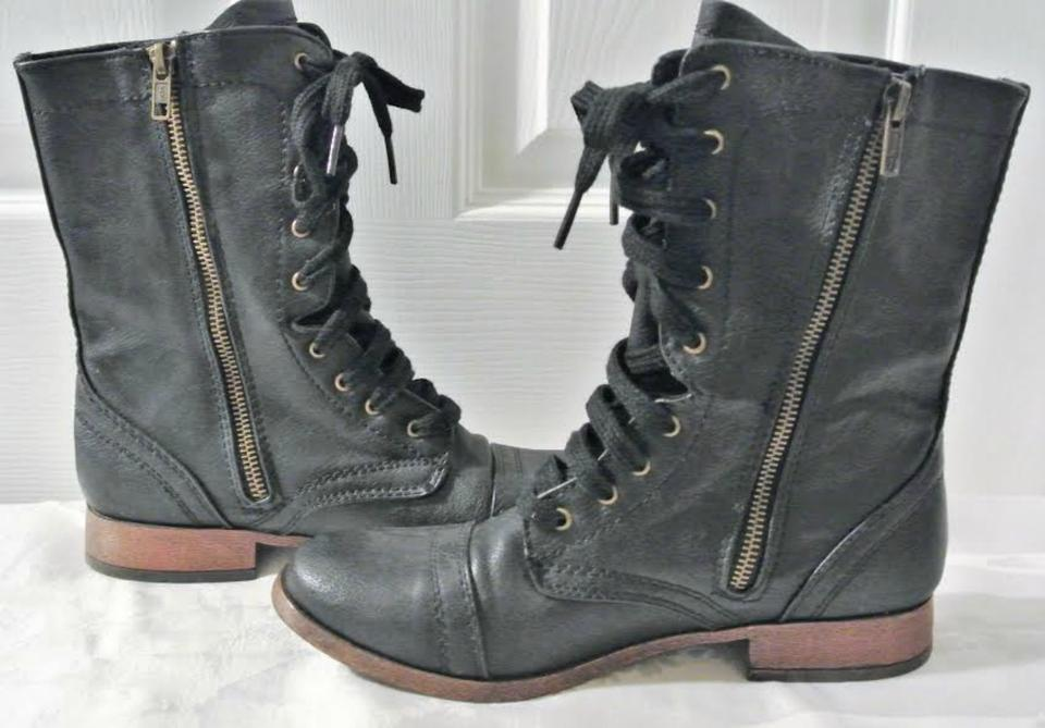 05c1ceb2162d Mossimo Supply Co. Black Boots Booties Size US 7.5 Regular (M