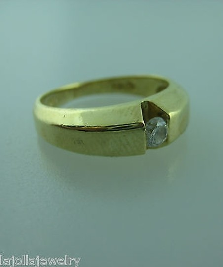 Other 14k,Yellow,Gold,Mens,Band,Diamond,Ring,,