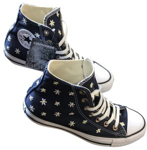 Converse Navy with Daisy's Athletic