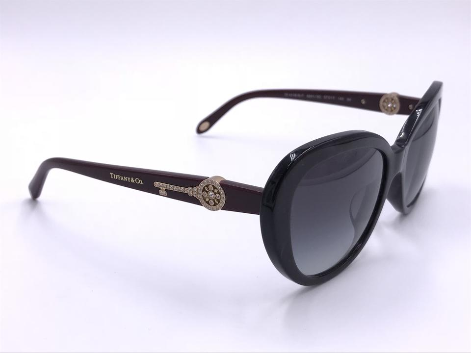 4b74ba39c664 Tiffany   Co. Marble Burgundy New Tf4118-b-f 8201 3c Famous Crystal Key T65  Sunglasses - Tradesy