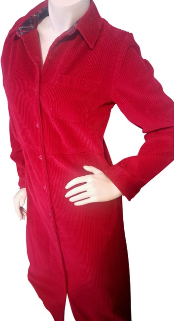 Preload https://img-static.tradesy.com/item/22766688/talbots-red-corduroy-mid-length-casual-maxi-dress-size-10-m-0-1-650-650.jpg