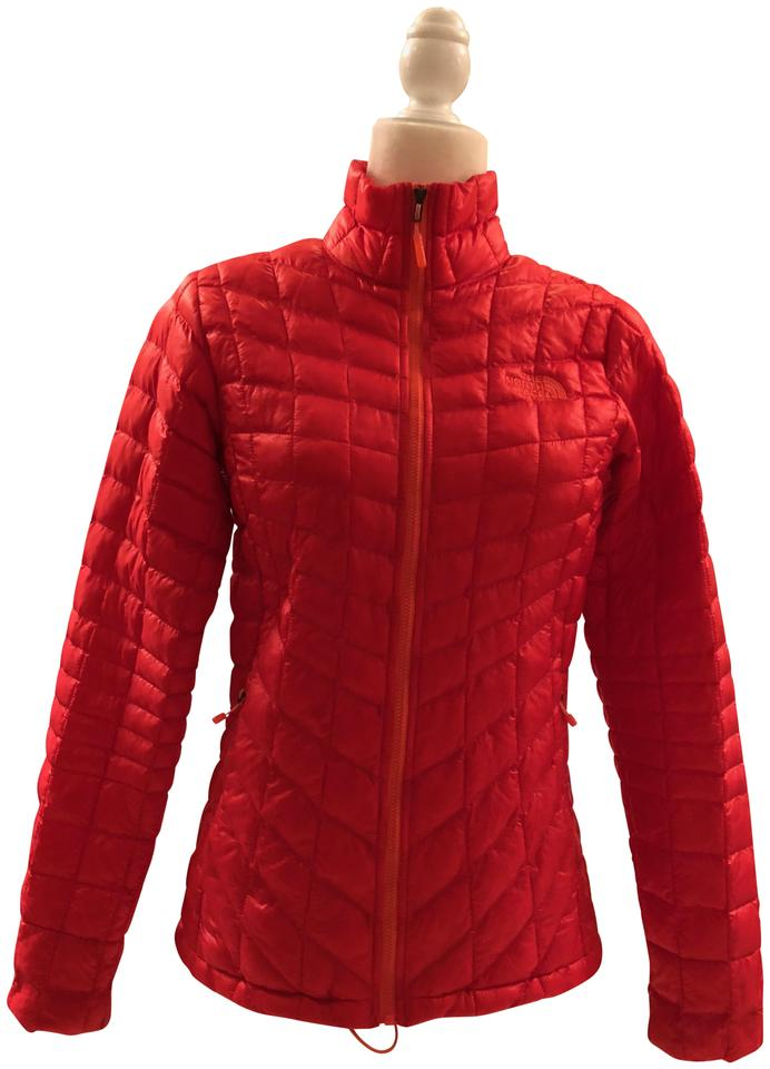 3baabf972 Melon Red Thermoball Jacket