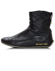 Sergio Rossi Ankle Leather black Boots