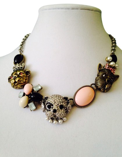 Preload https://item2.tradesy.com/images/betsey-johnson-multi-color-nwot-puppy-and-multi-stone-necklace-2276756-0-0.jpg?width=440&height=440