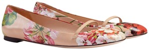 Gucci Blooms 39 411038 Multi-Color Flats
