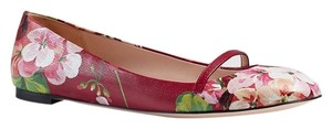 Gucci Blooms 39 411038 Red Flats