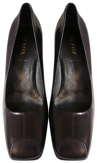 Preload https://img-static.tradesy.com/item/22767990/prada-brown-new-chocolate-leather-pumps-size-eu-39-approx-us-9-regular-m-b-0-1-540-540.jpg