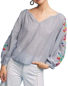 Anthropologie Top Multi-Color