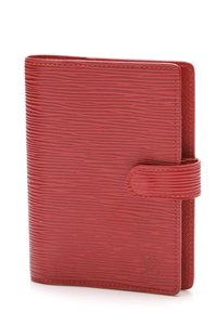 Louis Vuitton Louis Vuitton Agenda PM - Red Epi