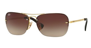 Ray-Ban Free 3 Day Shipping RB 3541 001/13 New Pilot Shape