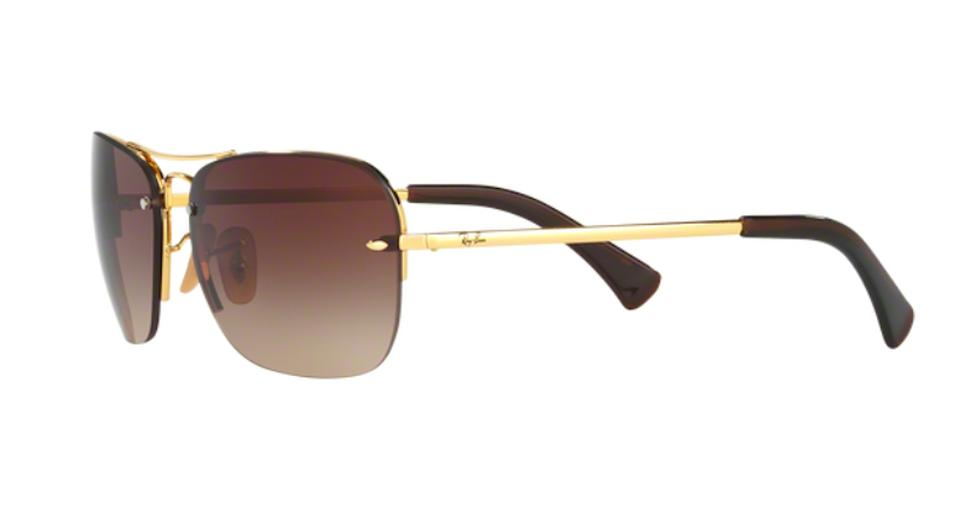 4bb35303ed2e4 Ray-Ban Free 3 Day Shipping RB 3541 001 13 New Pilot Shape Image.  123456789101112