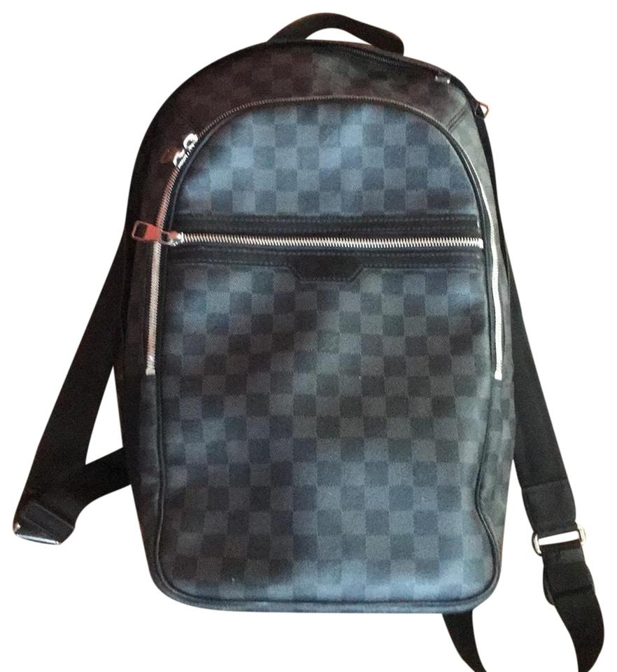 a259a48ac676 Louis Vuitton Michael Damier Graphite Slate Grey and Black Canvas ...
