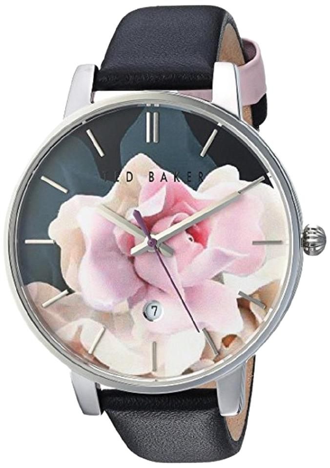 a531242e814b Ted Baker NWT Ted Baker London Women s Kate Leather Strap Watch Image 0 ...