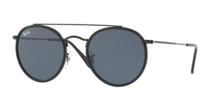 Ray-Ban New Black Rounded Ray Ban RB 3647N 002/R5 Free 3 Day Shipping