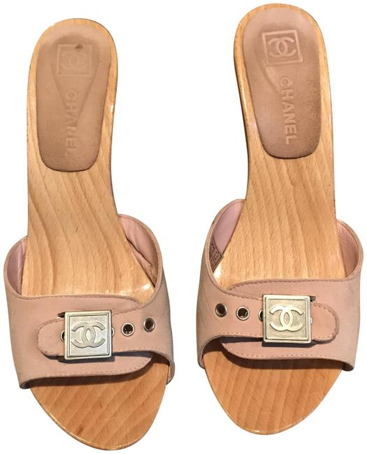 Item - Pink Cruise Collection Mules/Slides Size EU 38 (Approx. US 8) Regular (M, B)