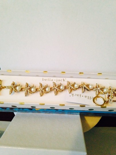 Bella Jack Mia Starfish Cubic Zirconia & Pearl Bracelet Only! Matching Earrings Sold Seperately.