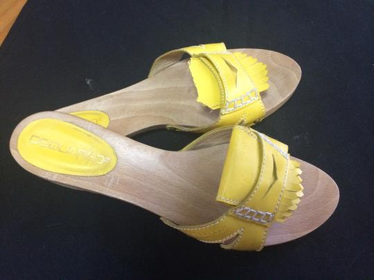 DSquared Yellow Mules