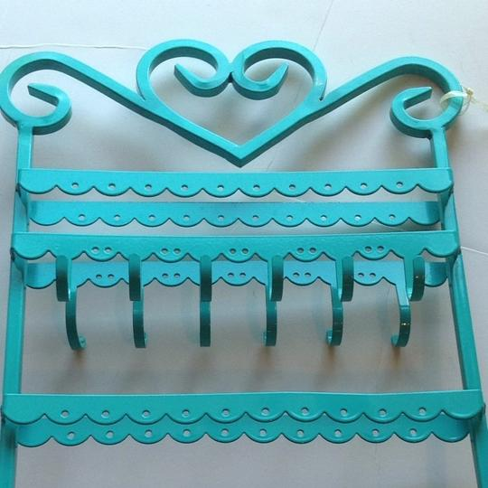 Other New Teal Accessories Holder Keeper Organizer Earrings Necklace Bracelet Jewelry Holder