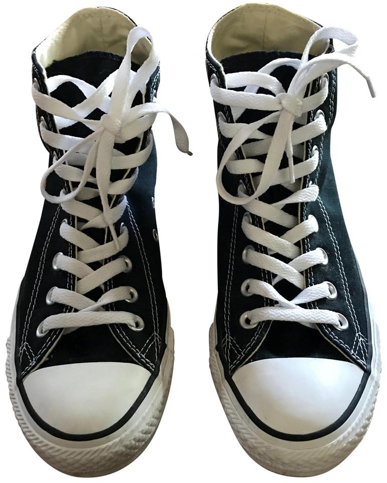 23ad93352d81e5 Converse Black All Star Unisex Chuck Taylor Hi Top Youth 3 Sneakers ...