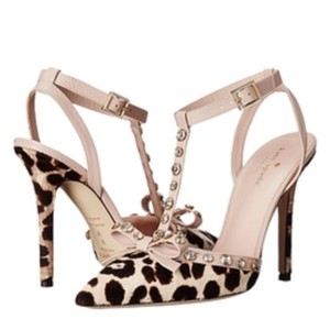 Kate Spade Cheetah Calf Fur Pumps