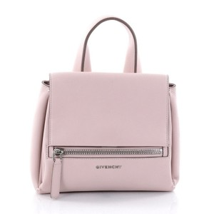 Givenchy Pandora Leather Satchel in Pale Pink