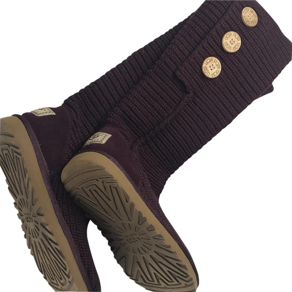 Ugg Australia Knitted Uggs Bootsbooties Size Us 7 Regular M B