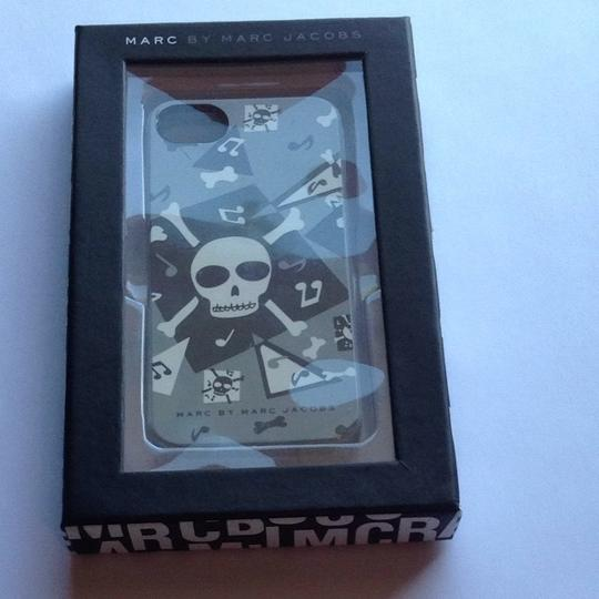 Marc Jacobs Marc Jacobs Gray Black White iPhone 5 Case