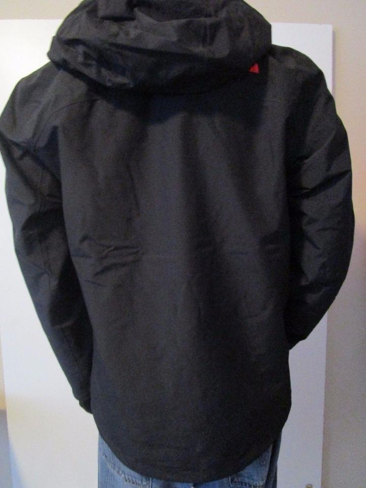 The North Face Tnf Black Red Mens Cinder Tri 3 In 1