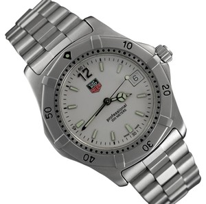 TAG Heuer TAG Heuer Professional 2000 Mens Diver Watch, WK1111-0 - Stainless Ste