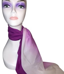 Mulberry Ombre Scarf [ Roxanne Anjou Closet ]